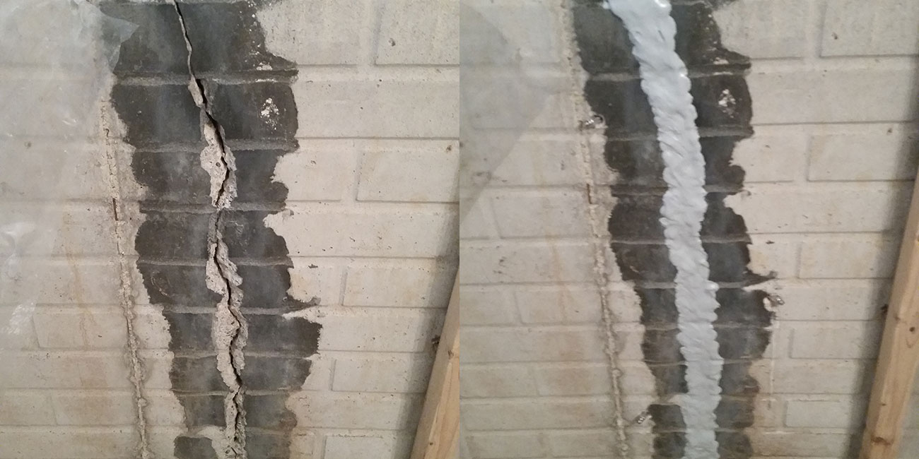 Cracked Walls Absolutely Dry Basement Waterproofing