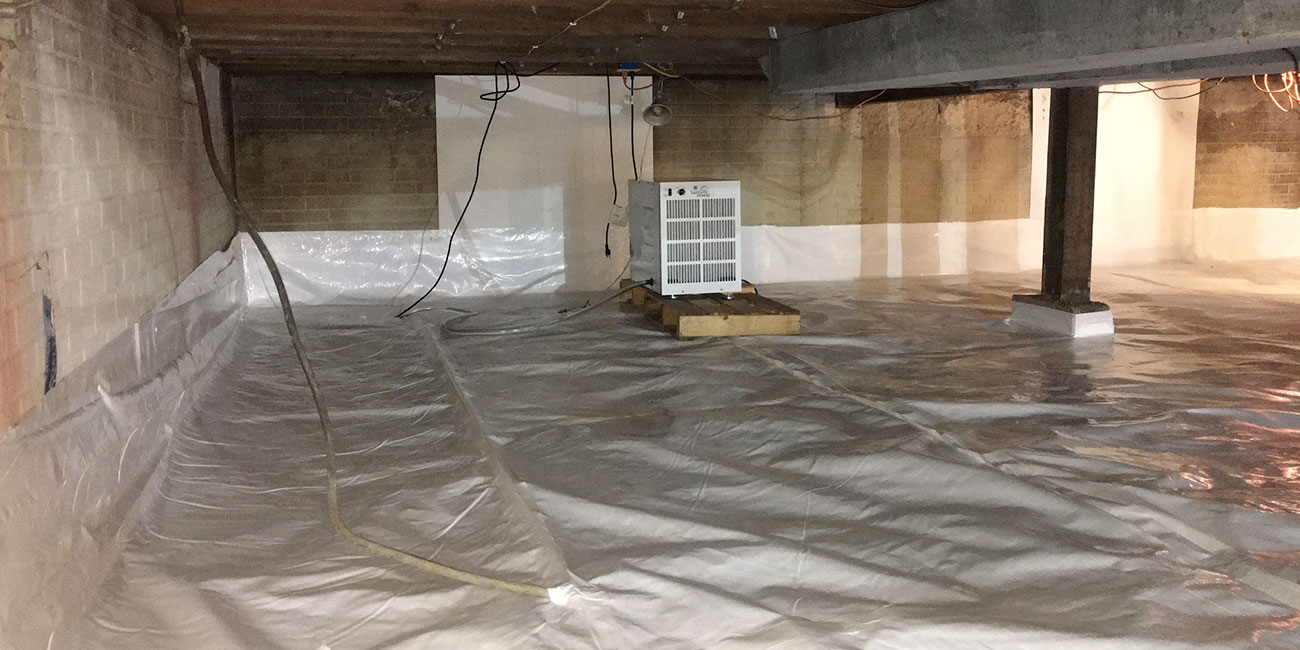 crawl space repair absolutely dry basement waterproofing